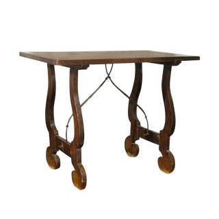 Early 19th Century Italian Stretchered Table