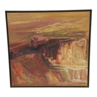 Original Oil Painting by Deceased Ceramic Artist Bernadette Cole