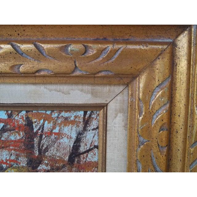 """Autumn Landscape"" Oil on Canvas - Image 3 of 3"