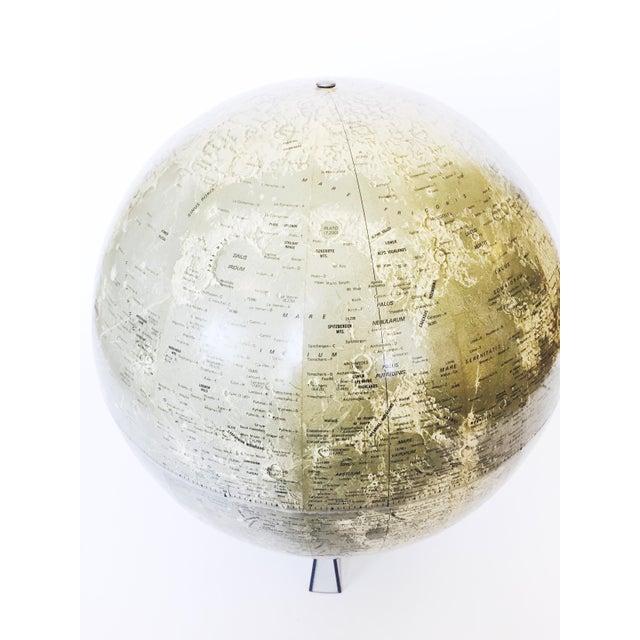 Image of Mid Century Moon Globe