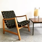 Image of Jens Risom Webbed Lounge Chair