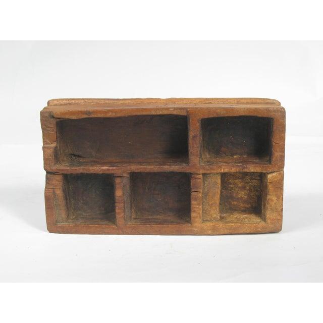Vintage Large Betel Nut Wood Server - Image 3 of 4