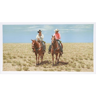 """Rocky Rodgers, """"Trails Divide,"""" Lithograph"""