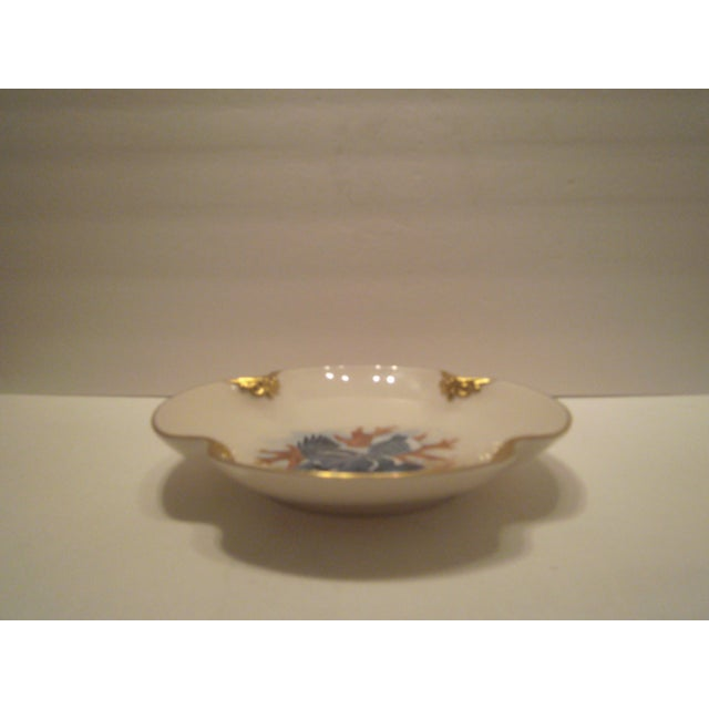 Image of Pickard China Hand Decorated Gold Gilt Bowl