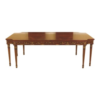 EJ Victor Newport Regency Style Dining Room Table