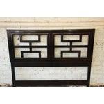 Image of Century Furniture Chin Hua Black Lacquer Full Size Headboard