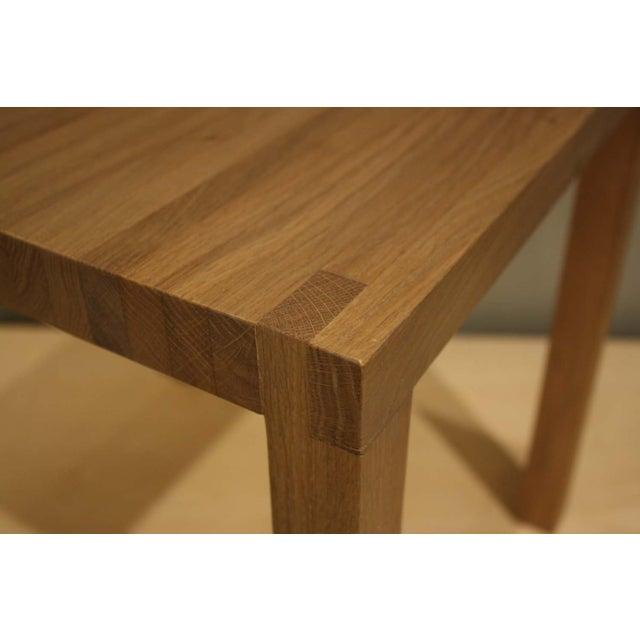 Natural Oak Slat Back Accent Chair - Image 6 of 6