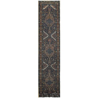 Surena Rugs Antique Handmade Persian Heriz Runner - 3' x 14' 7'