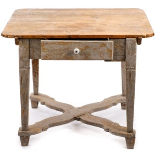 18th Century Gustavian Farm Table