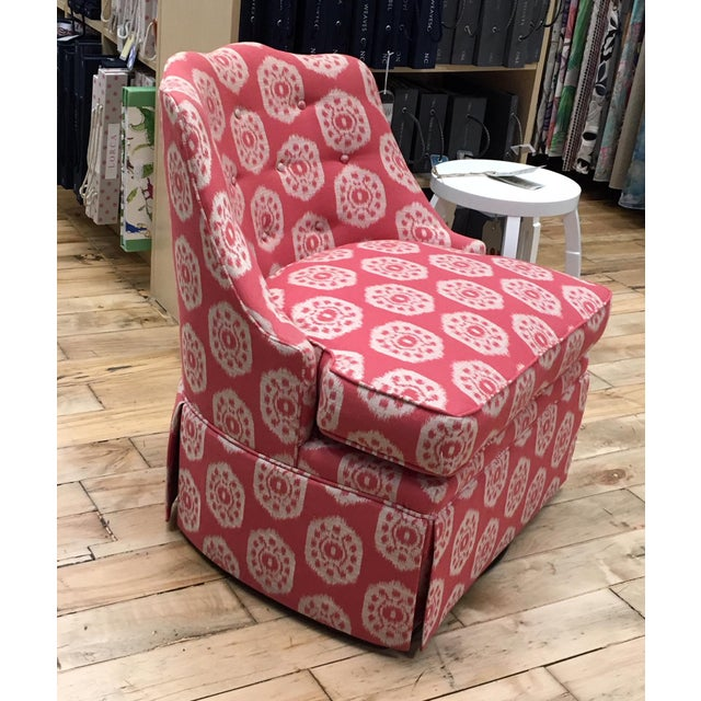 Thibaut Brentwood Swivel Chair Showroom Sample - Image 2 of 6
