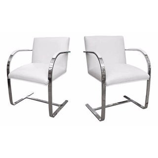 Faux Leather Brno Chairs - A Pair