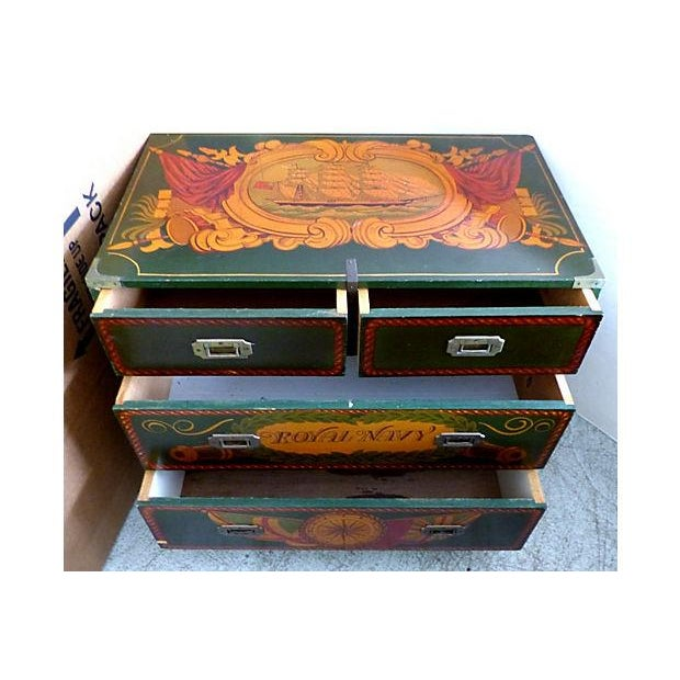 Painted Nautical Theme Dresser - Image 3 of 10