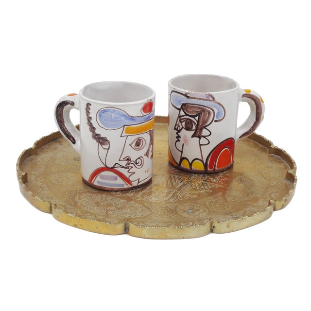 Ceramic Desimone Mugs - Pair - Image 7 of 7