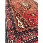"Image of Vintage Zanjan Persian Rug - 4'3"" X 6'10"""