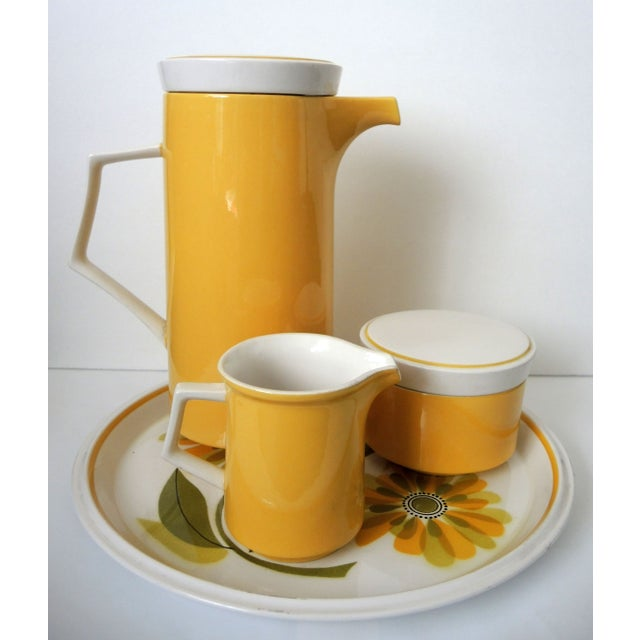 Vintage Mikasa Coffee Set with Platter - Image 3 of 9