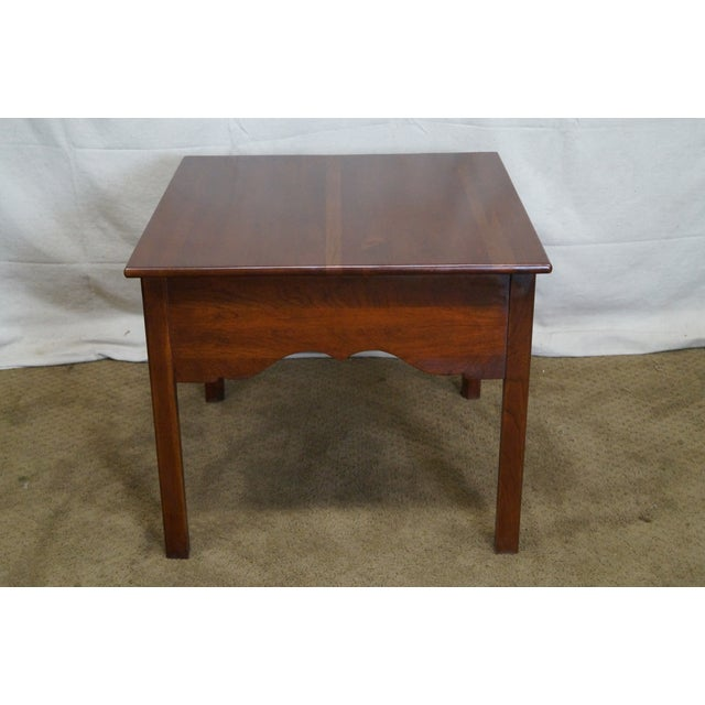 Lexington Bob Timberlake Solid Cherry Side Table - Image 4 of 10