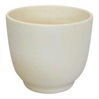 Matte White California Modern Planter Pot by Gainey Ceramics