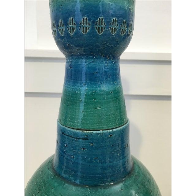Bitossi Ceramiche Art Pottery Lamp - Image 8 of 9