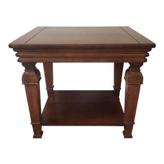 Lane Furniture Rectangular Wood Side Table