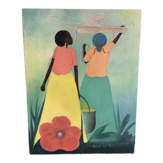 Contemporary Haitian Figurative Painting