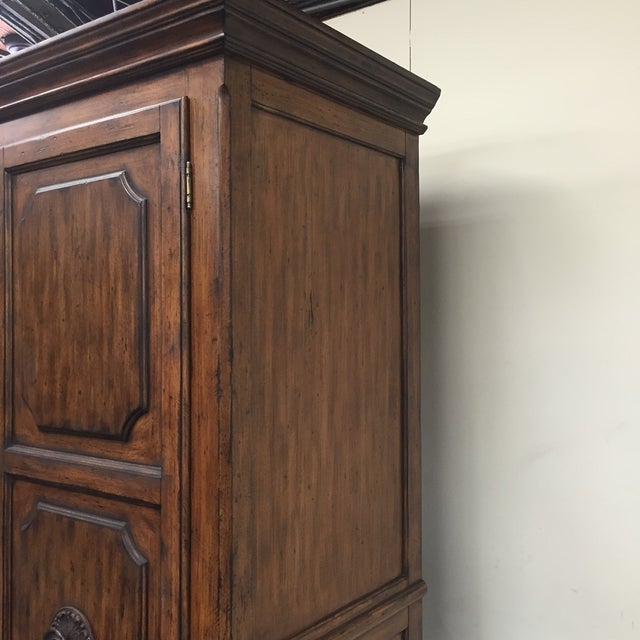 Ital Art Design Wine Armoire with Marble Table - Image 10 of 11