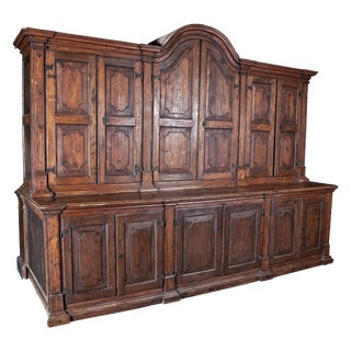 Spanish Colonial Massive Cabinet