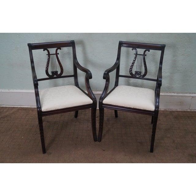 Schmieg/Kotzian Robert Whitley Dining Chairs - 12 - Image 5 of 10