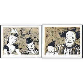 1944 Lithographs - Circus: # 37 & 38 - A Pair