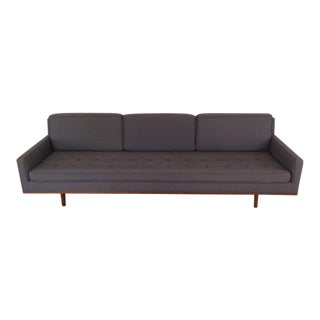 1950s Metropolitan Furniture Mid-Century Gray Sofa