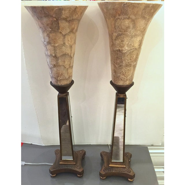 Image of John Richard Torchere Lamps - a Pair