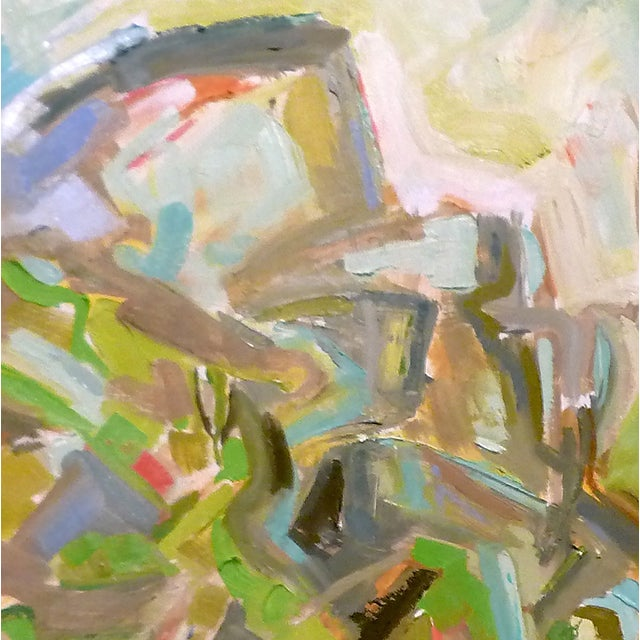 """""""Patagonia"""" Abstract by Trixie Pitts 36""""x36"""" - Image 2 of 3"""