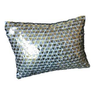 West Elm Disco Ball Pillow