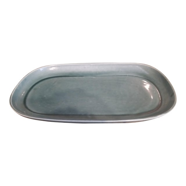 Image of Russel Wright Mid-Century Green Platter