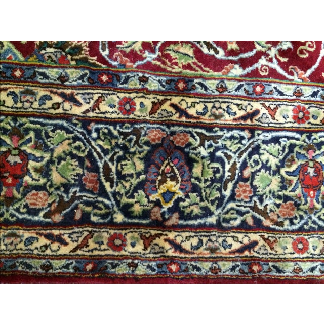 Large Traditional Persian Rug - 12′4″ × 9′6″ - Image 7 of 11