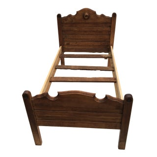 Antique Wooden Child's Bed