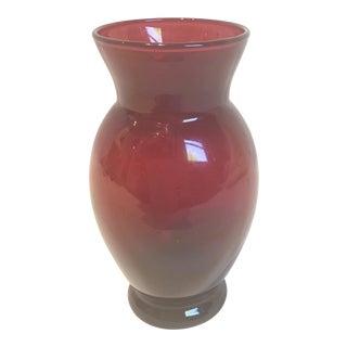 Royal Ruby Glass Vase