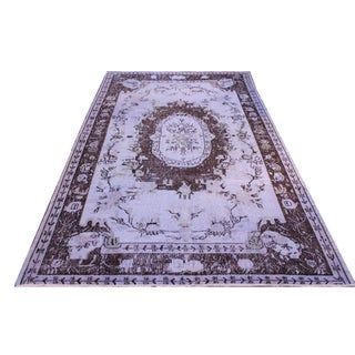 Overdyed Vintage Turkish Rug - 5′10″ × 9′6″