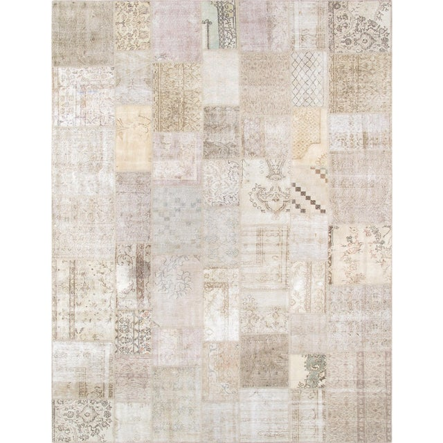 Pasargad Patchwork Collection Rug - 9' X 12' - Image 1 of 2