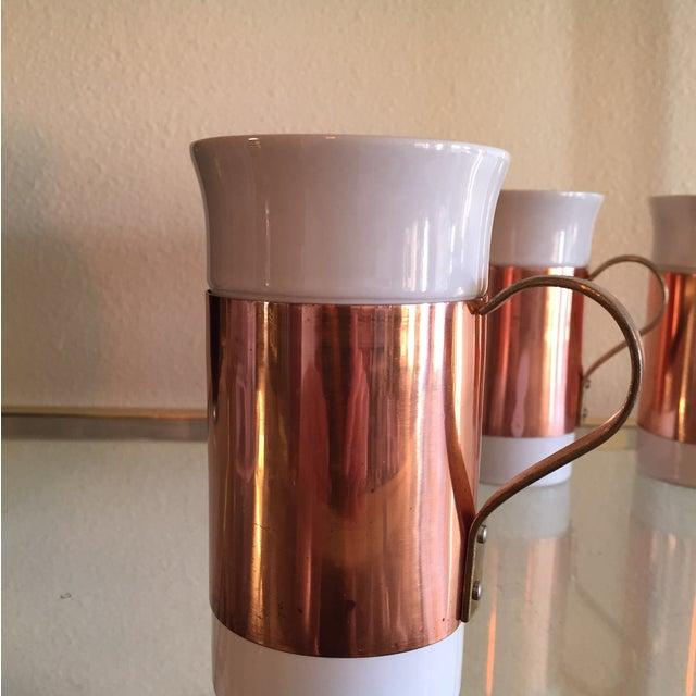 Image of Copper Mugs - Set of 5