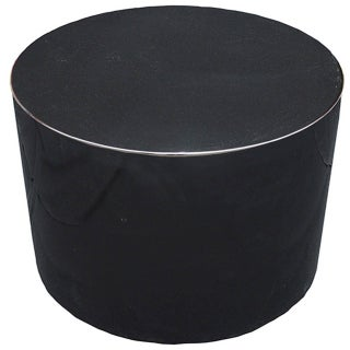 Harvey Probber Swivel Black Lacquer Pedestal