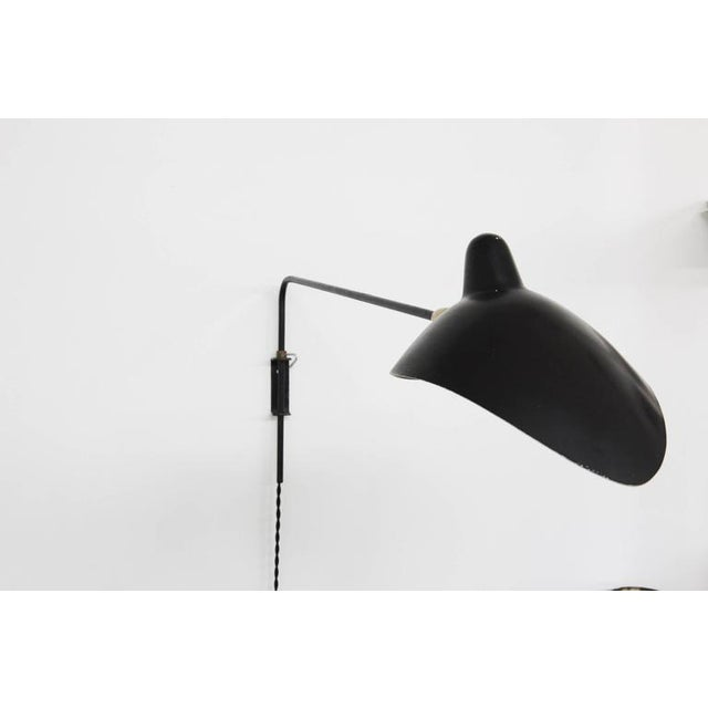 Image of 1953 Vintage Serge Mouille 'Casquette' Wall Light