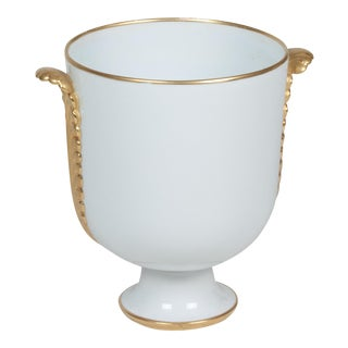 Porcelain Footed Urn Vase by Gio Ponti for Richard Ginori