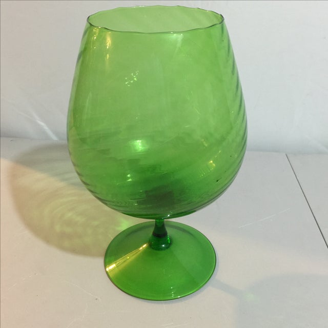 Image of Mid-Century Green Vase