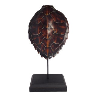 Large Turtle Shell Sculpture