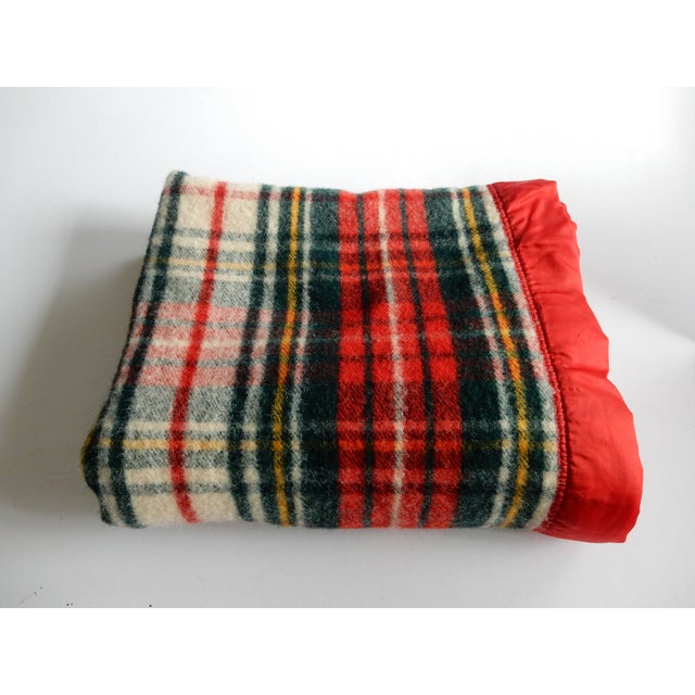 Pearce Red Plaid Blanket - Image 2 of 3