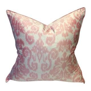 Williams Sonoma Home Silk Ikat Pillow