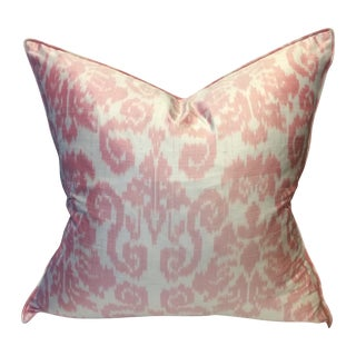 Williams Sonoma Home Silk Ikat Pillow