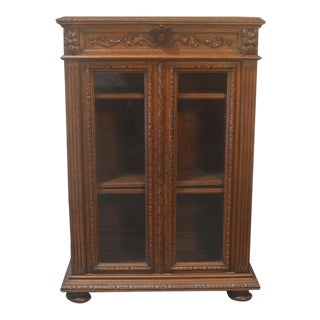 Antique French Oak Bookcase