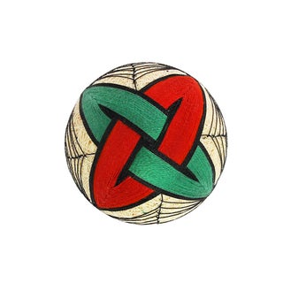 Temari Ball Handmade Ornament - Celtic Christmas