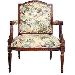 Louis XVI Style Occasional Chair
